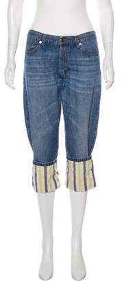 Marni Mid-Rise Cropped Jeans