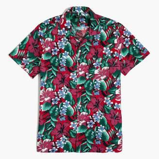 J.Crew Printed camp-collar casual shirt
