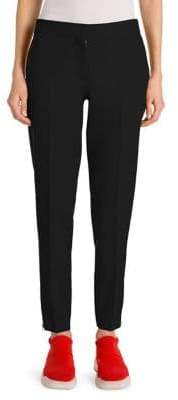Stella McCartney Women's Japanese Tailoring Zip Ankle Trousers - Lover Red - Size 34 (0)