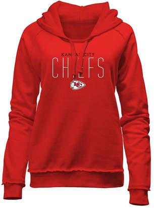 5th & Ocean Women Kansas City Chiefs Fleece Pullover Hoodie