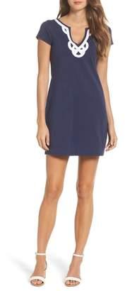 Lilly Pulitzer R) 'Brewster' Contrast Trim T-Shirt Dress