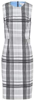 Diane von Furstenberg Checked cotton dress