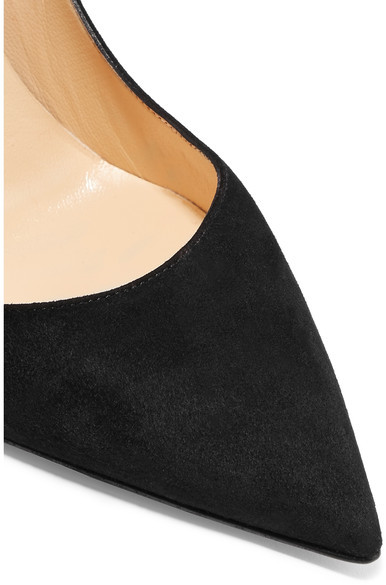 Christian Louboutin - So Kate 120 Suede Pumps - Black 5