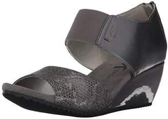 Anne Klein AK Sport Women's Carisma Synthetic Wedge Sandal