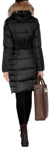 Parajumpers Michelle Down Coat in Black