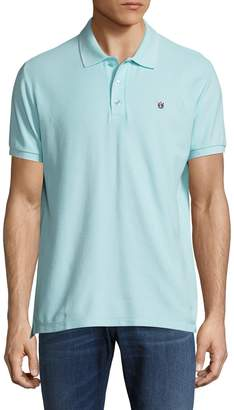 Cult of Individuality Men's Pique Solid Polo Shirt