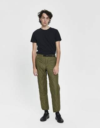 The North Face Black Series Charlie Ripstop Pant in Burnt Olive Green