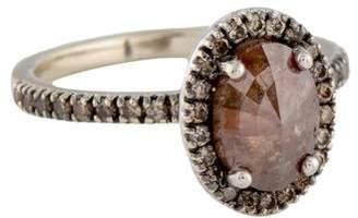 Couture Sethi 18K Diamond Halo Ring