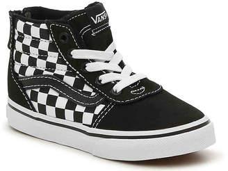 Vans Ward Hi Zip Infant & Toddler High-Top Sneaker - Boy's