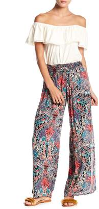 Raga Botanic Bliss Patterned Side Slit Pants