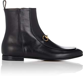 Gucci Women's Bit-Detail Leather Ankle Boots