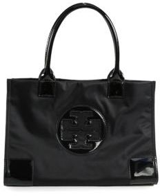 Tory Burch Tory Burch Ella Mini Nylon & Faux Leather Tote