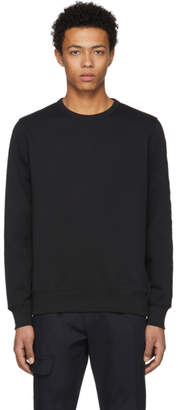 Burberry Black Embroidered Kentley Sweatshirt