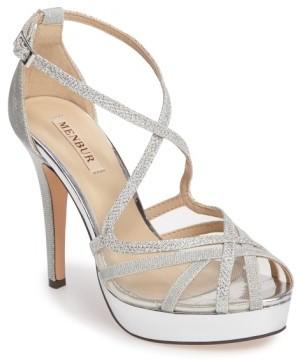 Women's Menbur Rosa Platform Evening Sandal $147.95 thestylecure.com