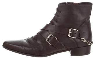 Tabitha Simmons Bryon Lace-Up Ankle Boots