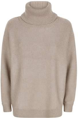 Jaeger Merino Roll Neck Sweater