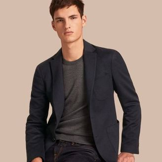 Burberry Modern Fit Lightweight Cashmere Tailored Jacket $1,795 thestylecure.com