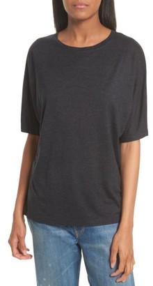 Women's Vince Dolman Sleeve Tee $110 thestylecure.com