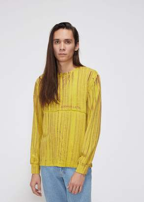 Eckhaus Latta Hand Dyed Lapped Long Sleeve