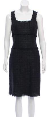 Michael Kors Bouclé Knee-Length Dress w/ Tags