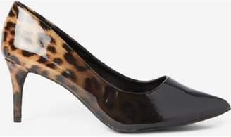 Dorothy Perkins Womens Wide Fit Black 'Eden' Court Shoes