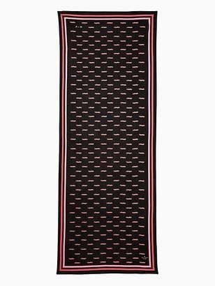 Kate Spade Hot rod oblong scarf