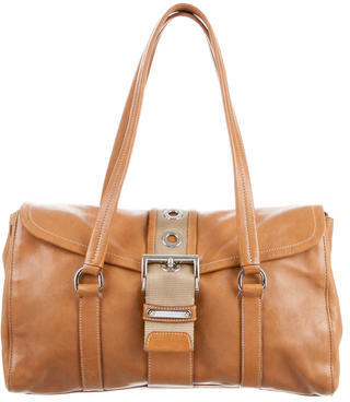 prada Prada Soft Calf Shoulder Bag