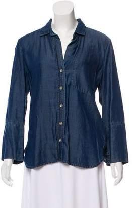 Bella Dahl Button-Up Tunic Dress