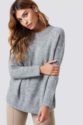 Samsoe & Samsoe Nor O-N Long Sweater Black Melange