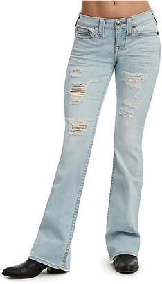 True Religion BOOTCUT DISTRESSED JEAN