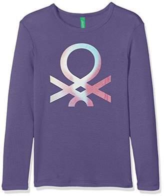 Benetton Girl's Longsleeve T-Shirt,(Herstellergröße: XXS)