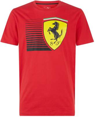 Puma Ferrari Shield Logo T-Shirt