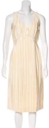 Geoffrey Beene Striped Midi Dress