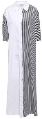 Tome Striped Cotton-poplin Maxi Shirt Dress