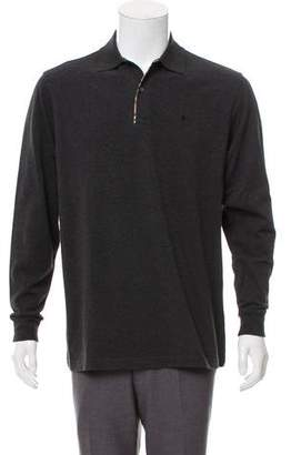 Burberry House Check-Trimmed Polo Shirt