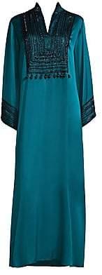Natori Women's Divinity Mandarin Silk Sleepshirt