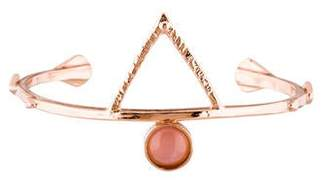 Bing Bang Rose Quartz Temple Amulet Cuff