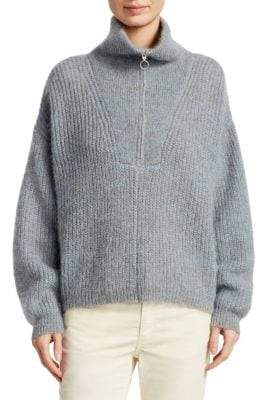 Etoile Isabel Marant Cyclan Mohair Cowlneck Sweater