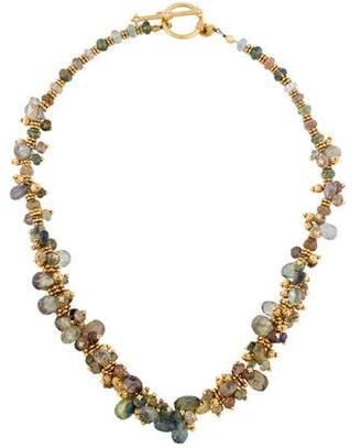 Laura Gibson Sapphire Briolette Necklace