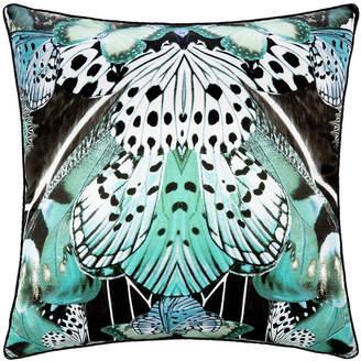 Roberto Cavalli Flying Wings Silk Cushion