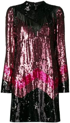 Just Cavalli embellished long-sleeve dress
