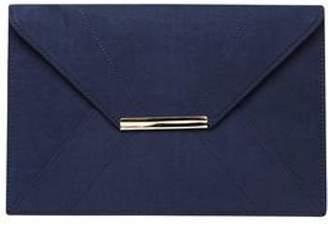 Dorothy Perkins Womens Navy Envelope Clutch Bag