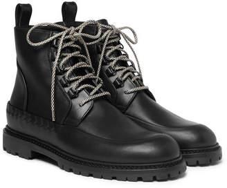Bottega Veneta Leather boots - Men - Black