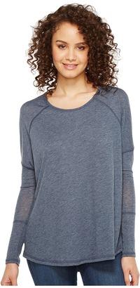 Alternative - Eco Gauze Ramble Long Sleeve Tunic Women's Long Sleeve Pullover $46 thestylecure.com