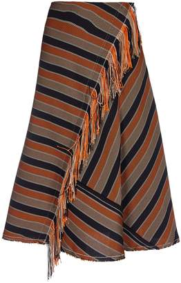 Golden Goose Striped Skirt