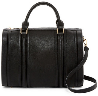 Urban Expressions Vegan Leather Dome Satchel $110 thestylecure.com
