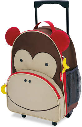 Skip Hop Little Boys & Girls Monkey Rolling Luggage