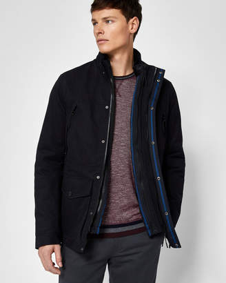 Ted Baker NILSON Quilted cotton field jacket