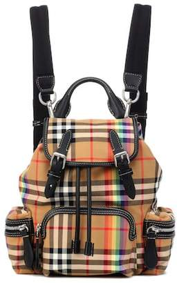 Burberry The Rucksack Small check backpack