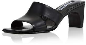 Charles David Women's Harley Leather Cutout Slide Sandals